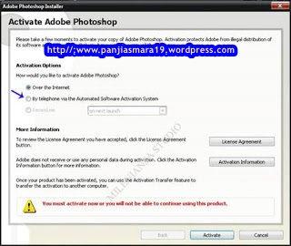 activasi photoshop cs1