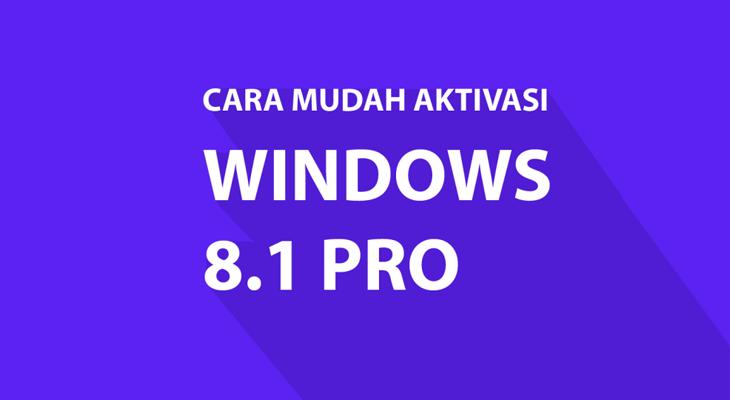 cara mudah aktivasi windows